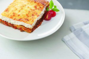 Bord lasagna